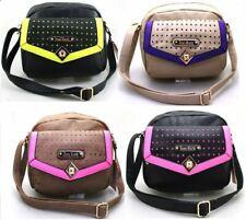 New Woman's Ladies LYDC Anna Smith Satchel Crossbody Laser Cut Handbag UK SELLER