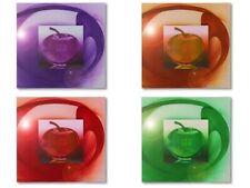 Airbrush Kunst-Bild Apfel Airbrushbilder Art Malerei Wohnung Wand-Bild NEU