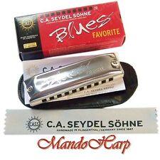 Seydel Harmonica - 15201 Blues Favorite (SELECT KEY) NEW