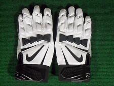New Nike Hyperbeast 2.0 Padded Impact Lineman Football Gloves White Black