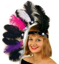 Charleston Stirnband Federn Pailletten 20er Jahre Karneval 126404113 126406113
