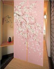 Japanese Noren Doorway Curtain Romantic Blossom Oriental Cherry Sakura E15