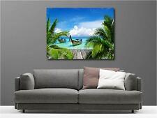 Quadro dipinti decocrazione in kit Sotto il tropiques ref 113613403