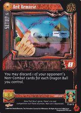 Red Remorse CCG TCG Card DBGT Dragon Ball GT - FOIL SPECIAL -