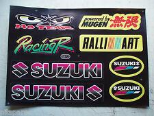 Dirt Pit Bike minimoto Fairing graphics stickers Mugen Suzuki