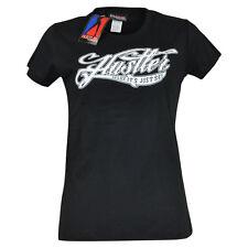 Hustler Clothing Brand Relax Its Just Sex Petite Womens Tshirt Tee Black