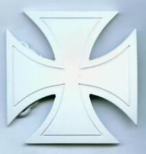 Adorno en la cintura Buckle blanca cruz White Iron Cross