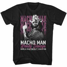 Macho Man Randy Savage World Heavyweight Champion Adult T Shirt WWE Wrestling