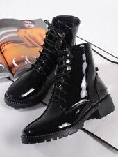 bottes basses chaussures rangers 4 cm beige élégant comme cuir 9602 7QCnaC