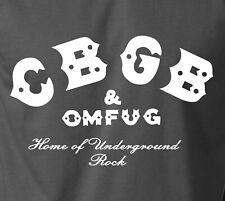 CBGB T-Shirt Classic Logo New York Underground Punk Rock Concert Tour S-6XL Tee