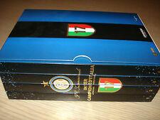 RARO BOX 4 DVD INTER CAMPIONE D'ITALIA 2008-2009 MOURINHO FC INTERNAZIONALE