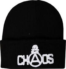 Chaos Seditionaries Brodé Bonnet Hiver Crâne original punk rock 1977