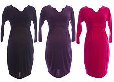 OLIAN Maternity Women's Sash Around Drop Shoulder Dress $148 NWT