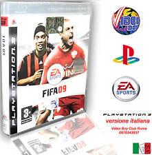 FIFA 09 PS3 GIOCO NUOVO ITALIANO ITA IMBALLATO @@@ SONY