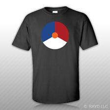 Royal Netherlands Air Force Roundel T-Shirt Tee Shirt Free Sticker RNLAF Dutch