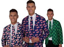 Nationale Jacke & Krawatte Herren Kostüm Britisch Irisch Erwachsene