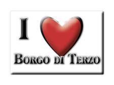 CALAMITA LOMBARDIA FRIDGE MAGNET MAGNETE SOUVENIR LOVE BORGO DI TERZO (BG)