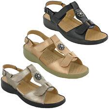 Cushion-Walk Halterback Wedge Sandals Buckle Summer Strap Open Toe Lightweight