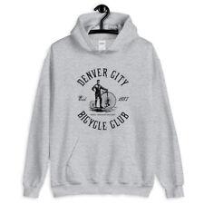 Denver Bicycle Club Hoodie - Hoody Men S-3XL - Gift Cycling Cyclist Vintage Bike