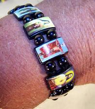 6 MAGNET HEMATITE RELIGIOUS BRACELET jesus mary angel STONE fahion  bracelets
