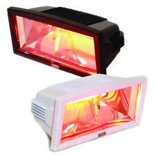 InfraredMagicSun Radiateur Infrarouge Chauffage de Patio 1300W Noir ou Blanc