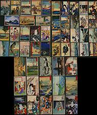 Ukiyo-e jap. farbholzschnitt 18 frigorifero magnete dopo Hiroshige, Kunisada, etc