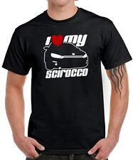 Fun t-shirt * I LOVE MY scirocco * III 3 tuning sport réunion r * satire vw *