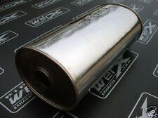 "Universal Silencer SS Box 3"" Bore 8.5""x6.5""x450mm Long"