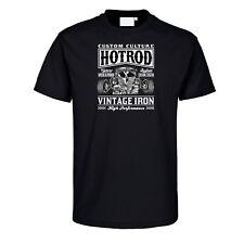 Hot Rod T-Shirt Vintage Iron US Car Custom Vintage