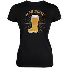 Oktoberfest Das Boot Black Juniors Soft T-Shirt