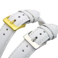 White Leather Watch Strap Band Scelta di Dimensioni 16mm 18 mm 20mm 22mm