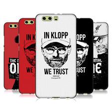 Oficial Liverpool Football Club Jurgen Klopp Negro caso De Gel Para Huawei Teléfonos