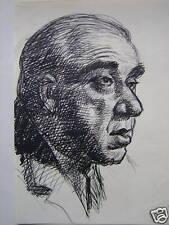 PORTRAIT OF A GENTLEMAN FRANKLYN  ROGERS INK C1940