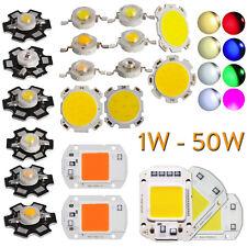 1x 10X Led Cob Chip Proiettore 1W 3W 5W 7W 20W 30W 50W Grow Lampada Pianta