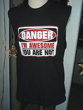 T-SHIRT DEBARDEUR CATCH WWE THE MIZ DANGEROUS NEW S,M,L,XL,XXL