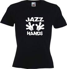 Glee Club Jazz Hands  Ladies Womens Girls T-Shirt  Choir Singing Dancing Theatre