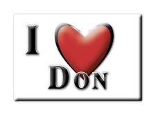CALAMITA TRENTINO ALTO ADIGE FRIDGE MAGNET MAGNETE SOUVENIR LOVE DON (TN)--