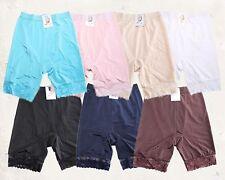 GaiYi017 High Waist Plus Size Lace Trim Vintage Style Girdle Panty Underwear 6pk