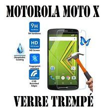 Pour MOTOROLA MOTO X PLAY Film Protection Ecran Vitre/Verre Trempé/Blindé 9H