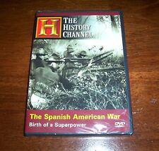 The Spanish American War Spain US Spanish-American Cuba History Channel DVD NEW