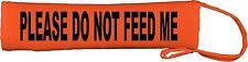 Veuillez ne pas me nourrir chien plomb slip cover 133