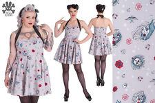 Hell Bunny Zoey Mini Rockabilly Swing Pinup Punk Dress XS - 4XL Plus Size