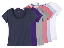 (BZ) Esmara Damen Tshirt Modisches Basic Damenkleidung Oberteil Shirt NEU