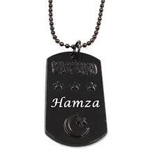 "Birthday Wedding Ayatul Kursi Eid Gifts /""AMIR/"" Mens Arabic Name Necklace Tag"