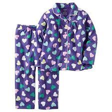 Girls Carter's Print Pajama Set- Size 10