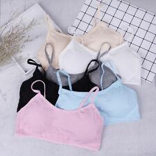 Teen girls underwear soft padded cotton bra young girls for yoga sports bra T_gu