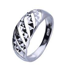 Damen Ring Rhodiniert 925 Sterling Silber Valentinstag Geburstag