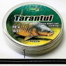 0,75 EUR / mètres katran Tarantul 20m enrobé émerillon TRESSE NOIR