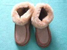 Pelle di pecora Pantofole,interno foderato con pelliccia,pantofole Tgl 35 40