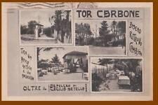 ROMA- quartiere TOR CARBONE 1942